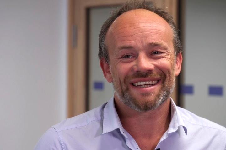 Cedric Boudarel, responsable du suivi des projets à l'ESG Sport
