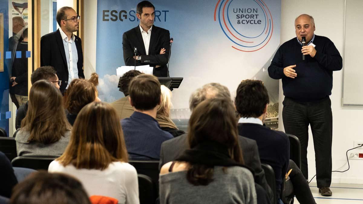Photo : Présentation de l'ESG sport